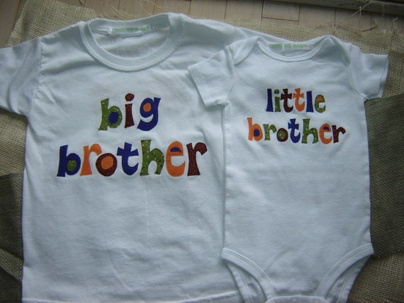 Custom Big Brother/Little Brother Shirt Combo (NOT Personalized)