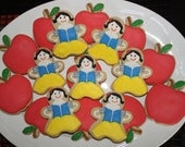 Snow White Princess Cookies for Birthday Party