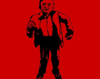 TWIN PEAKS T-Shirt sci fi horror tshirt black lodge man from another place shirt (also available on crewneck sweatshirts and hoodies) SM-5XL
