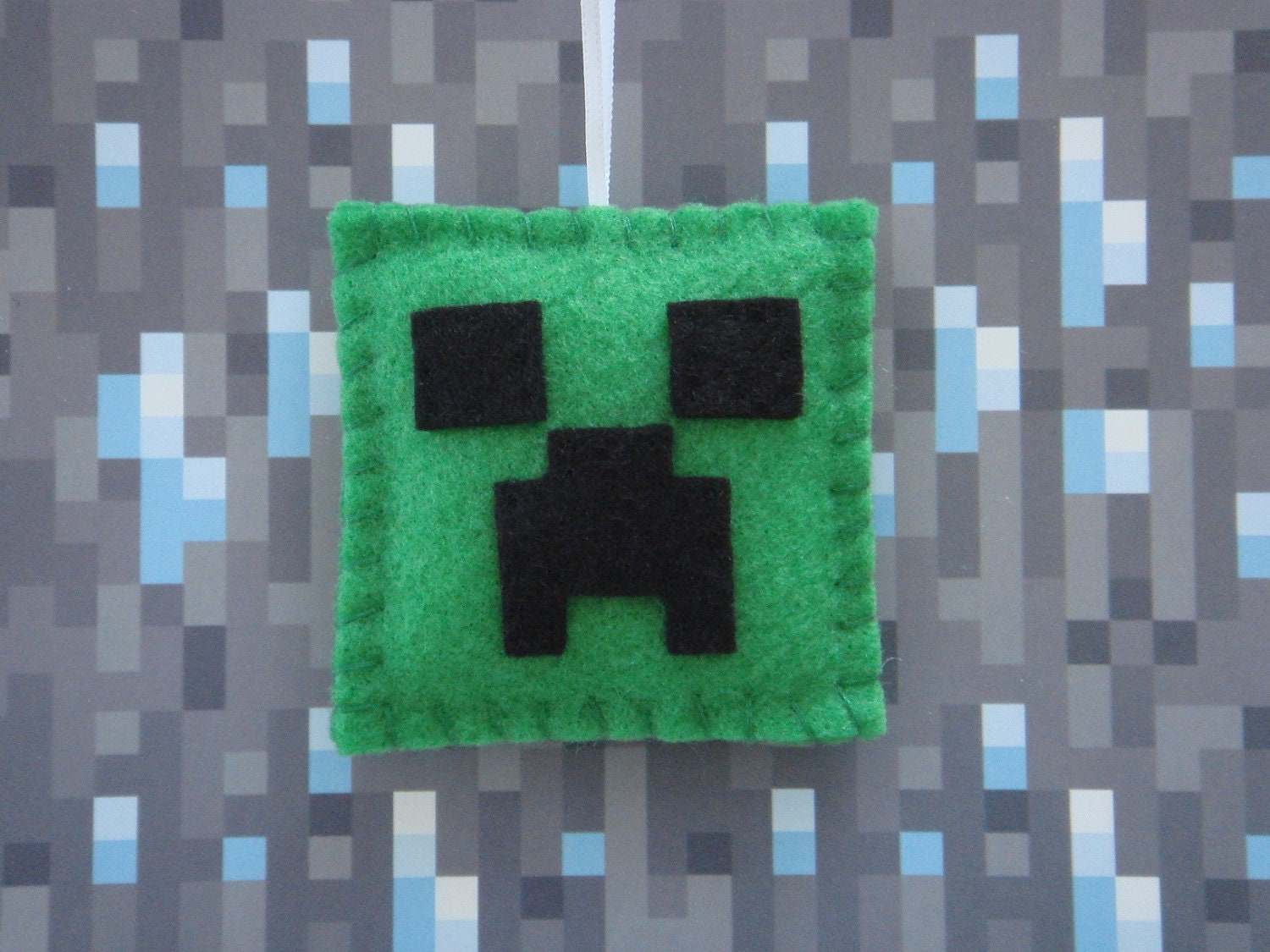 Minecraft Creeper ornament magnet decoration birthday party favor ...