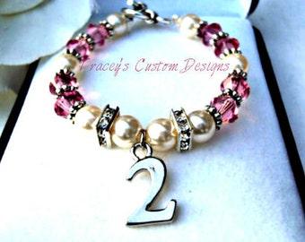 Babys Second Birthday Keepsake Bracelet