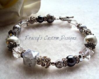 Women's Silver Moonshine Bracelet - CUSTOM MADE JEWELRY