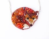 Gorgeous Fox Beaded Necklace: MADE TO ORDER