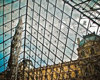 Under The Louvre Paris,France-Fine Art Photo-Mulitple Sizes Available,Paris,Architecture,Louvre,Museum