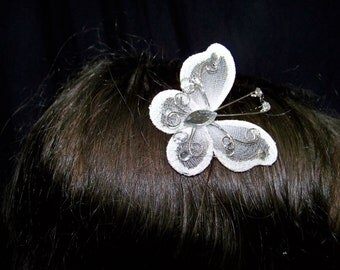 Butterfly Comb Butterfly Hair Accessories Bridal Combs