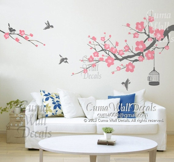 Tree Wall Decals For Bathroom  Color The Walls Of Your House - Wall stickers decals