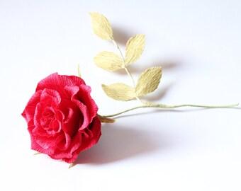 big paper rose 3 pcs wedding flowers crepe paper flowers big ivory rose big red rose paper ivory rose paper red rose cream big rose bouquet