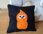 Zingy lavender mini cushion inspired EDF energy