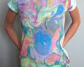 Marbled T-Shirt Tie&Dye Pastel