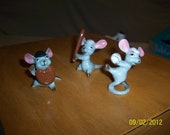 PLAY BALL  With the talented 3 mice/ Made in Japan