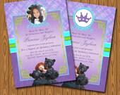 Disney Pixars Brave Invitations