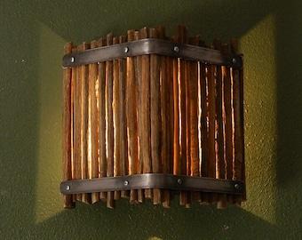 Wall Light Cover Saguaro Cactus Ribs