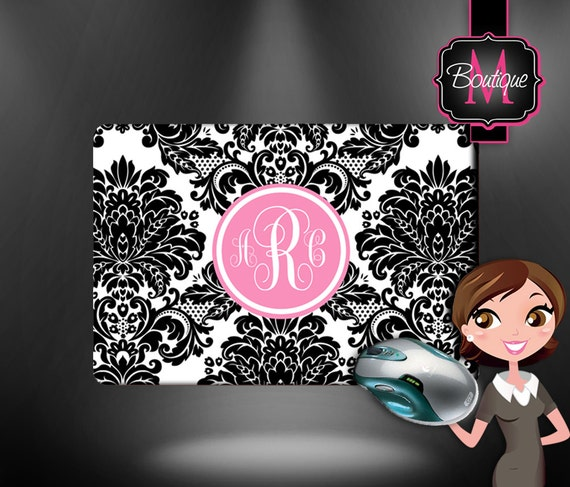 Personalized Mouse Pad Custom By BoutiqueMonogram