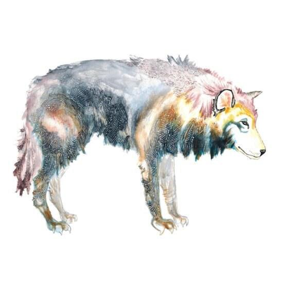 fairy tale wolf