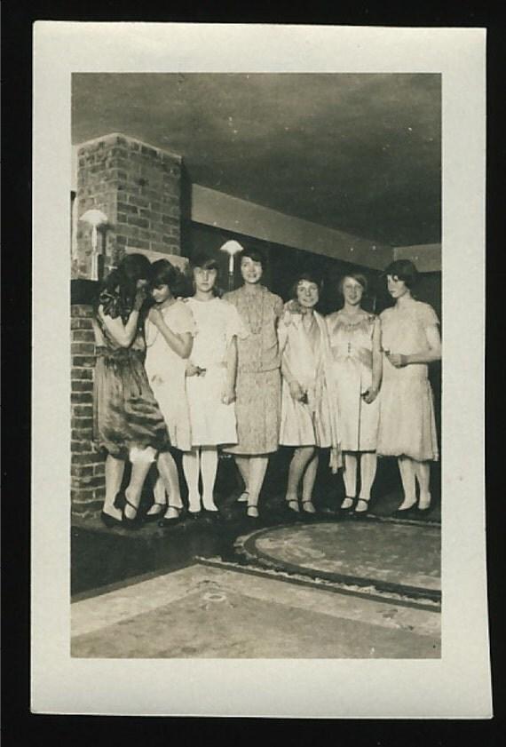 Teenage Girls, 1930s: Vintage Photo