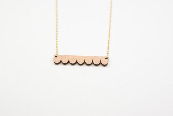 Flesh-colored necklace Alma