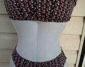CLEARANCE-Sexy Bikini with Wrap- Handmade Bikini-OOAK Bikini-Ready to ship