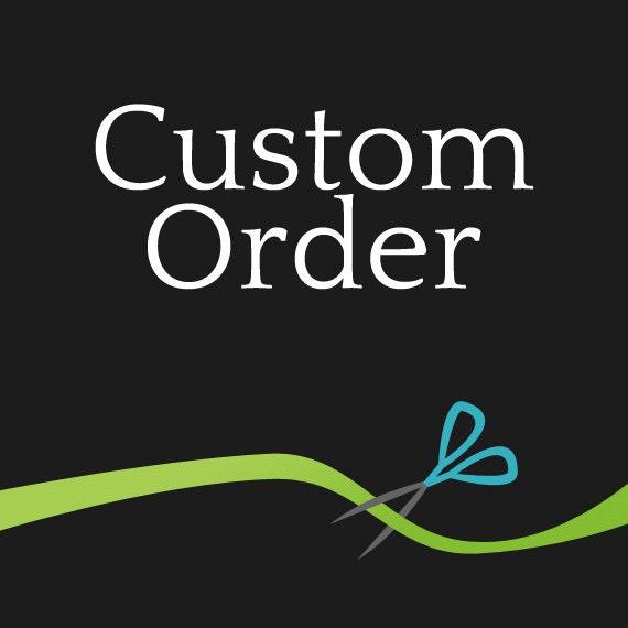 Custom order for Rosie-14 flag fabric banner