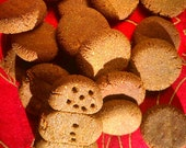 Gingerbread Bites, All Natural Dog Treats