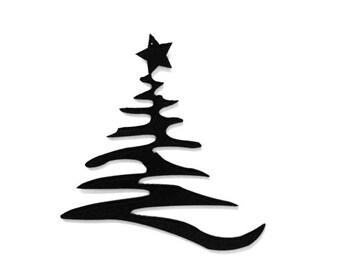 Christmas Tree, Xmas Tree, Metal Art, Christmas Gift, Christmas Decor, Modern Christmas, Metal Sign, gifts for mom, fireplace decor