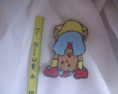 Being Bad Caillou inspired sew on or iron applique patch