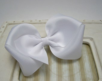 Southern Belle, Large Boutique Bow, Sweet and Simple, Texas Sized Bow