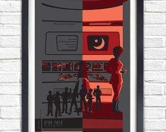 The Original Star Trek Series - Uhura - 19x13 Poster