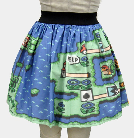 Mario Two Levels Full Skirt