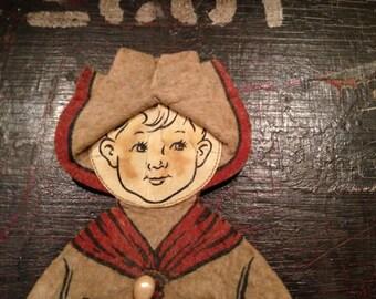 Vintage Boy Scout Pin Cushion
