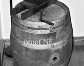Wine Barrel Photograph