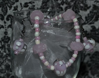 Sugar Puff Earring and Bracelet Set