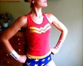 Reserved listing for beckyf2113 Wonder Woman inspired Running Costume