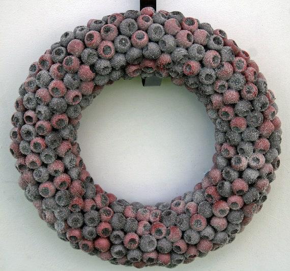 Fruit Wreath, Crabapple Wreath