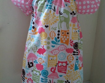 Sweet Bird Dress - Can be Made in Any Size