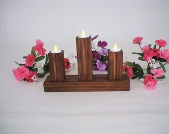Candle Holder, Wooden Candle Holder, Tea Candle Holder, Wedding Candles, Tea Lights, Candle Stands, Wedding Candle holders