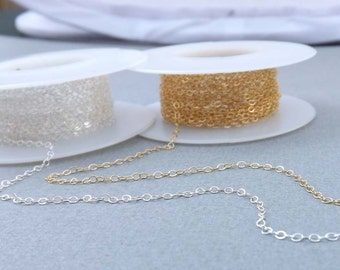 Sterling Silver or Gold Filled Chain Upgrade