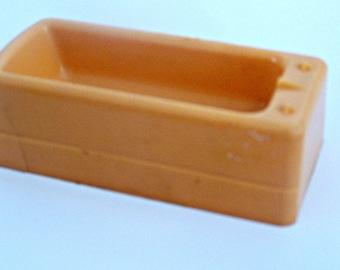 Miniature Bathtub, Superior  peach