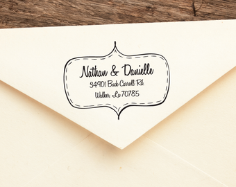 My Honey  - Personalized Address Stamp -  FREE SHIPPING
