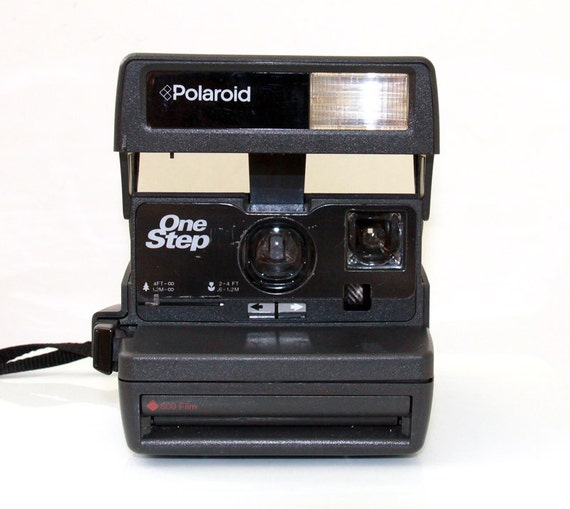Vintage Instant Polaroid Camera Onestep with Flash