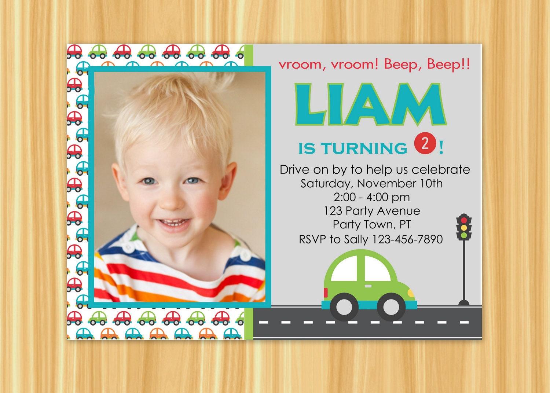 Car Invitation Birthday Party Zoom Monicamarmolfo Images
