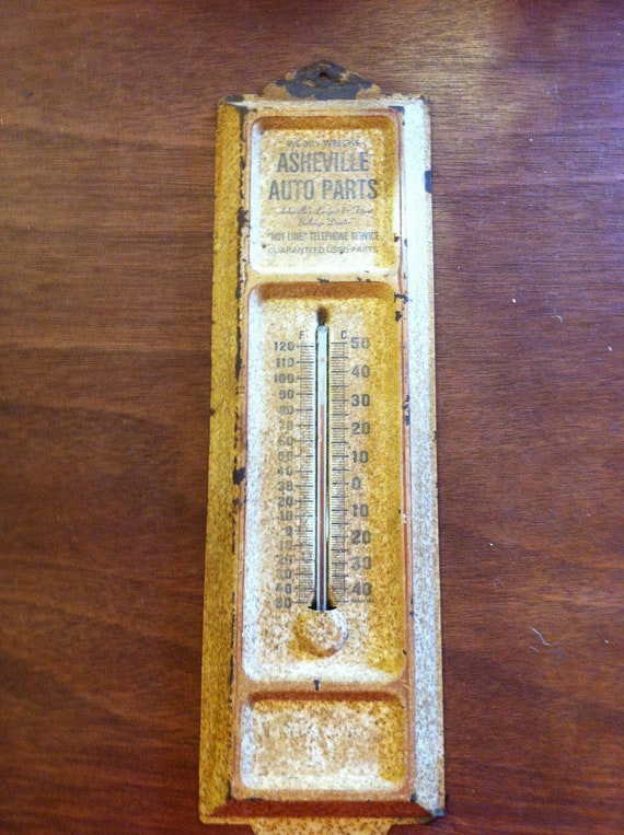 Asheville Auto Parts Thermometer