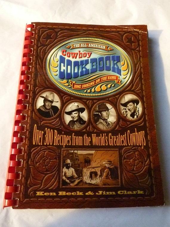 Vintage Cookbook - Cowboy Cookbook -  Vintage Book