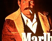 Marlboro Man Cowboy Poster Life Size Hard To Find
