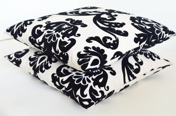 embossed velvet cotton ivory black handmade lace pillow decorative modern patterned home decor bedroom decor pillows