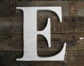 "12"" Wood letter, wedding decor, vintage chic, home decor"