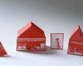 DIY MTL village de Noel et calendrier de l'avent