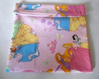 Disney Princess Pink Reusable Sandwich bag