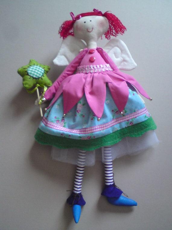 adorable Fairy rag dolls