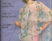 Butterick 5399  Vintage shear poncho