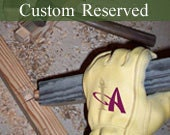 Custom Reserved Listing for Ronnard Green